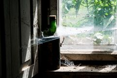 Old window - detail Stock Photography