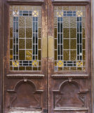 Old window door Royalty Free Stock Photography