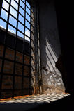 Old window at Eastern State Penitentiary Royalty Free Stock Photo