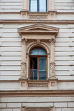 Old window with elements of modeling Royalty Free Stock Photography
