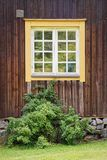 Old window exterior Stock Images