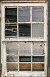 Old window frame. Stock Photo