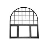 Old Window Frame Isolated Royalty Free Stock Image
