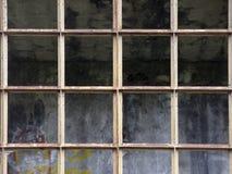 Old window frame Stock Image