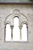 Old window in gernman church. Isolated Stock Photography