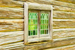 Old window glass Royalty Free Stock Images