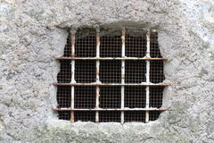 Old window grating Stock Photos