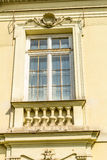 Old window of the historical building in Krakow, Poland Royalty Free Stock Image