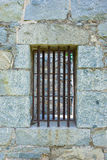 Old Window Jail Cell Stock Images