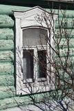 Old window in Kolomna, Russia Stock Photos
