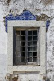 Old window from Lisbon, Portugal Stock Image