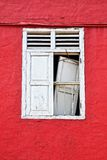 Old window. Melaka, Malaysia Royalty Free Stock Photo