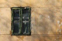 Old window in Mohacs Stock Image