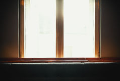 Old Window and New Furniture Royalty Free Stock Photos