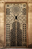 Old window ornament of Islamic Ancient in Egypt Royalty Free Stock Photos