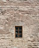 Old window from the Ottoman times. Old window Architecture from the Ottoman times In Istanbul Royalty Free Stock Photos