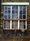 Old Window Panes Stock Image