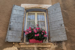 Old window of Provence Royalty Free Stock Photos