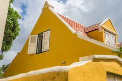 Old  Window in a roof   Otrobanda  Curacao Views Royalty Free Stock Photography