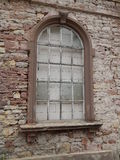 Old window of ruin house Royalty Free Stock Photography