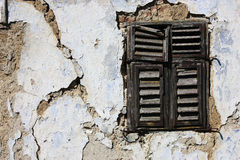 Old window-shader Royalty Free Stock Images