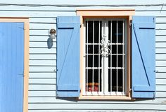 Old Window With Shutters Royalty Free Stock Images