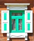 Old window shutters Stock Photo
