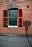 Old window with shutters Royalty Free Stock Photography