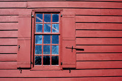 Old window with shutters Royalty Free Stock Photo