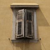 Old window shutters. Old window shutter in italy Royalty Free Stock Image