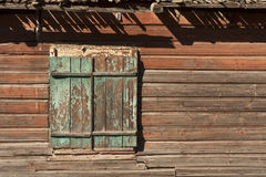 Old window with shutters. Stock Images