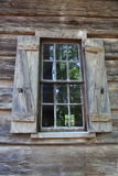 Old window and shutters at Callaway Gardens Stock Photography