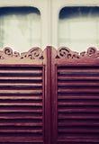 Old Window Shutters Stock Image