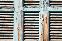 Old window shutters Royalty Free Stock Photos