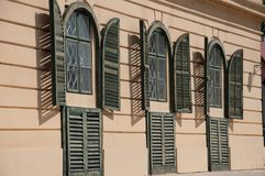 Old window shutters royalty free stock image