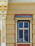 Old window from Timisoara, Romania 4 Royalty Free Stock Photo