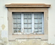 Old Window at the University of Coimbra Stock Image