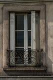 Old window, upstairs Paris. Stock Image