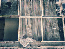 Old window in vintage look Stock Images