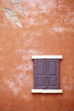 Old window and wall. Background from window and wall Royalty Free Stock Photos