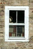 Old Window With Books Stock Image