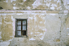 Old window with wood frame Royalty Free Stock Photo