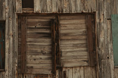 Old window worn by the years Royalty Free Stock Photos