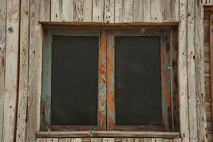 Old window worn by the years Royalty Free Stock Photo