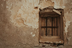 Old window worn by the years Royalty Free Stock Images