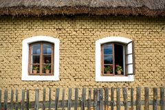 the old windows Royalty Free Stock Images