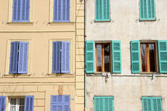 Old windows Stock Photography