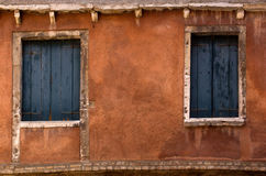 Old windows Royalty Free Stock Photos