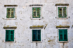 Old windows Royalty Free Stock Images