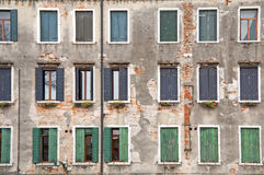 Old windows Royalty Free Stock Photography